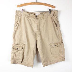 Levi's Khaki Cargo Shorts size 38